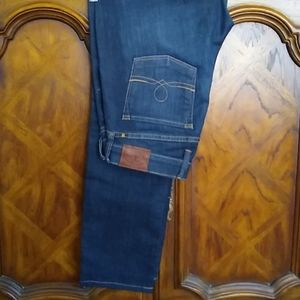 Lucky Brand Sofia Skinny Dark Denim Jeans, Sz 8/29